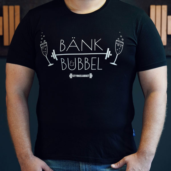Bänk & Bubbel-tishan i 3XL
